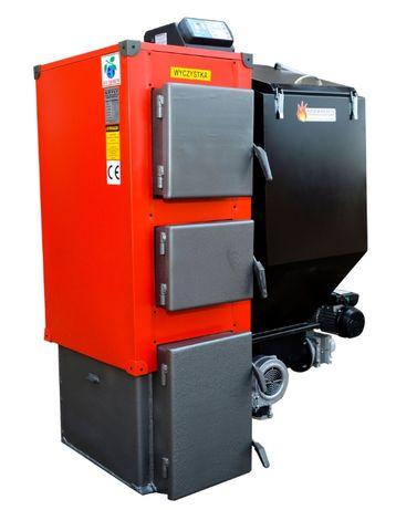 PIEC 19 kW Kociol do 120 m2 Kotly z PODAJNIKIEM na EKOGROSZEK 16 17 18