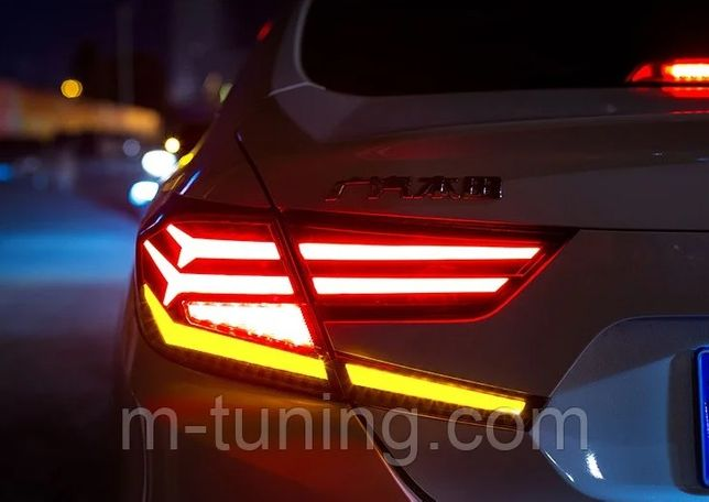 Диодные фонари LED оптика Honda Accord 10 (2018+) аккорд фара фонарь