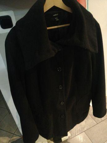 Kurtka Płaszcz H&M rozmiar 54 kaszmirowa wełna