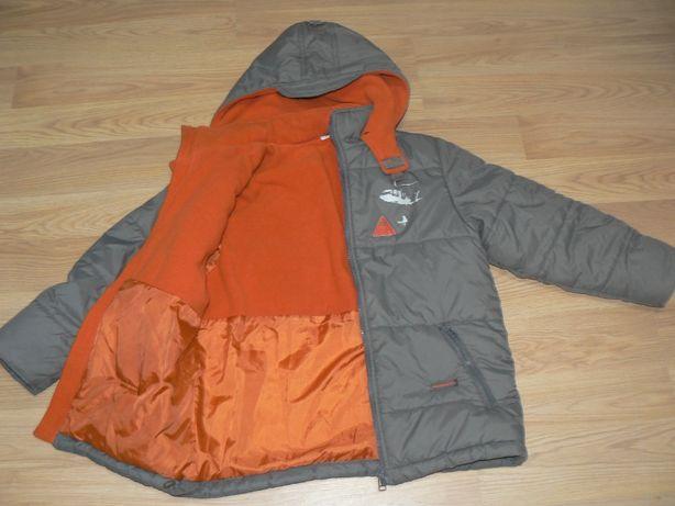 Jesienno-zimowa kurtka chłopięca Hot Oil 134-140,wiek 8-10 lat