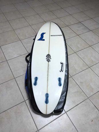 Prancha Surf Semente 5'9+Quilhas top gama+leash
