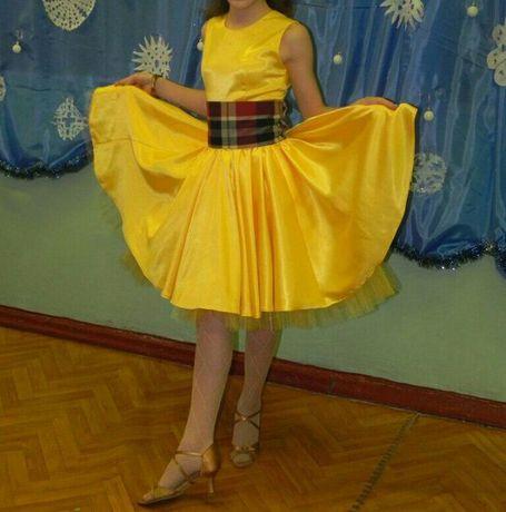 Нарядное платье Стиляги 8-10 лет