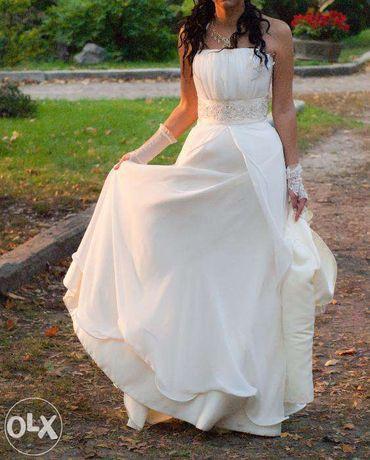 Cрочно продам свадебное платье в греческом стиле