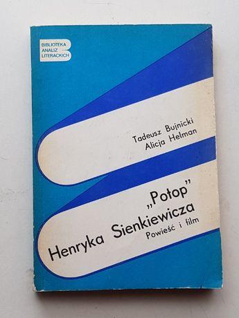 """T. Bujnicki, A. Helman """"""""Potop"""" H. Sienkiewicza. Powieść i film"""""""