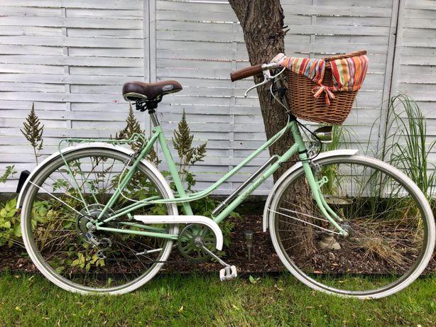 Miejski rower miętowy