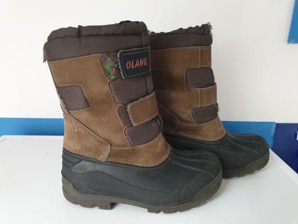 OLANG zimowe buty r31 32 śniegowce NAJLEPSZE