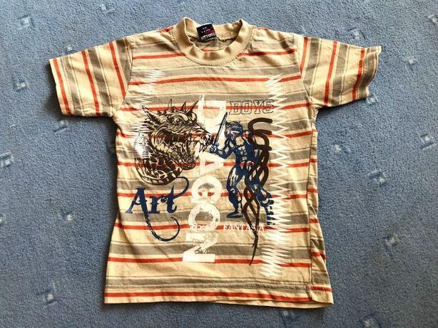 футболка с драконом для мальчика