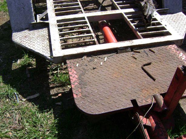 przyczepa pod minikoparke wozidło traktorek
