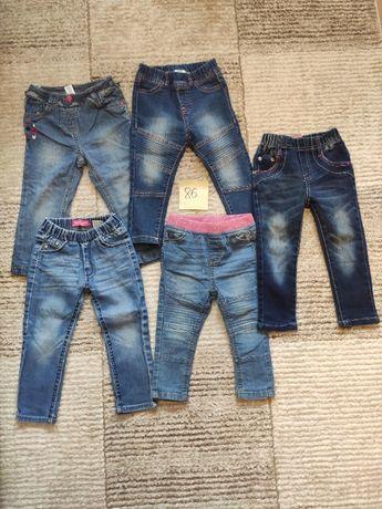 Spodnie dziewczęce rozmiar 86