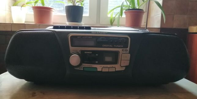 Radio magnetofon SHARP