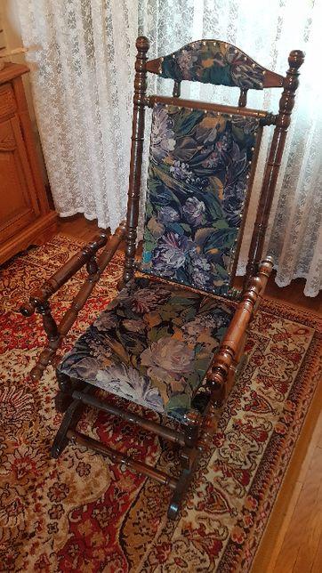Zabytkowe krzesło drewniane fotel