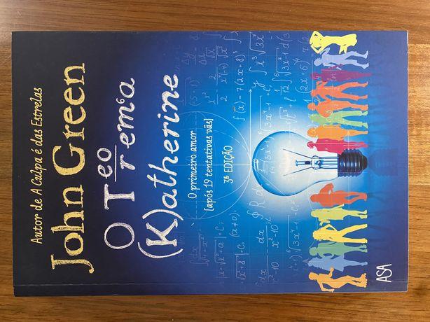 "Livro ""O Teorema Katherine"", John Green"