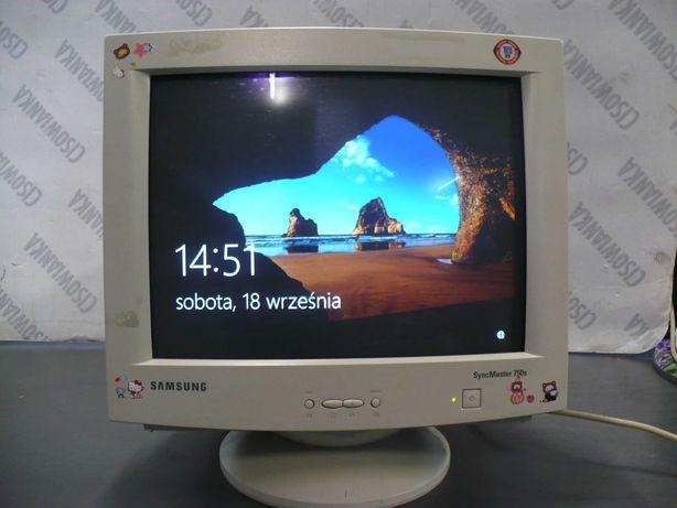 monitor crt Samsung SyncMaster 750S