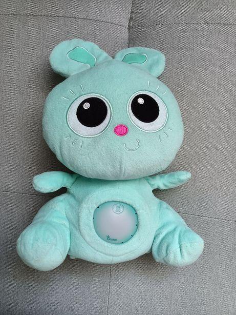 Silverlit Jojo baby królik króliczek interaktywny lampka kołysanka