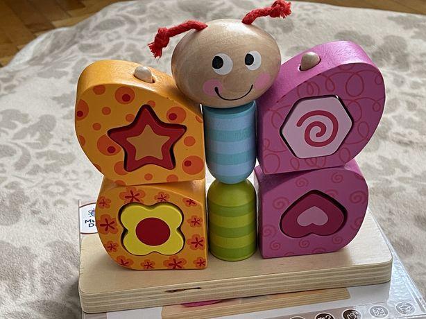 Іграшка дерев'яна конструктор