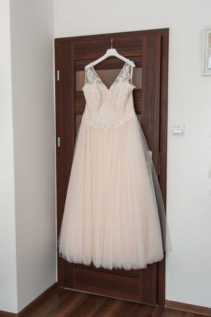 Sprzedam Suknię Ślubną 42/46 Agnes Lovely Lo77T, kształt litery A