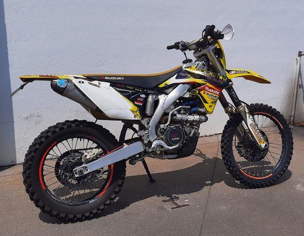 Suzuki RMX 450z matrícula e motor de arranque (RMZ 450)