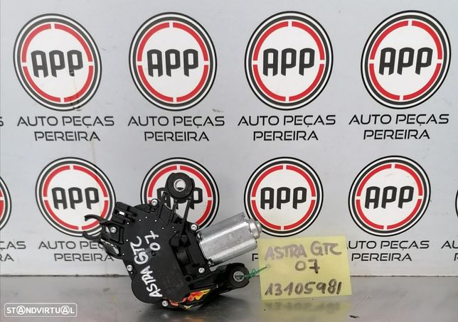 Motor limpa vidros traseiro Opel Astra H GTC.