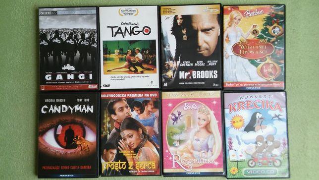 Filmy na płytach różne 16 sztuk