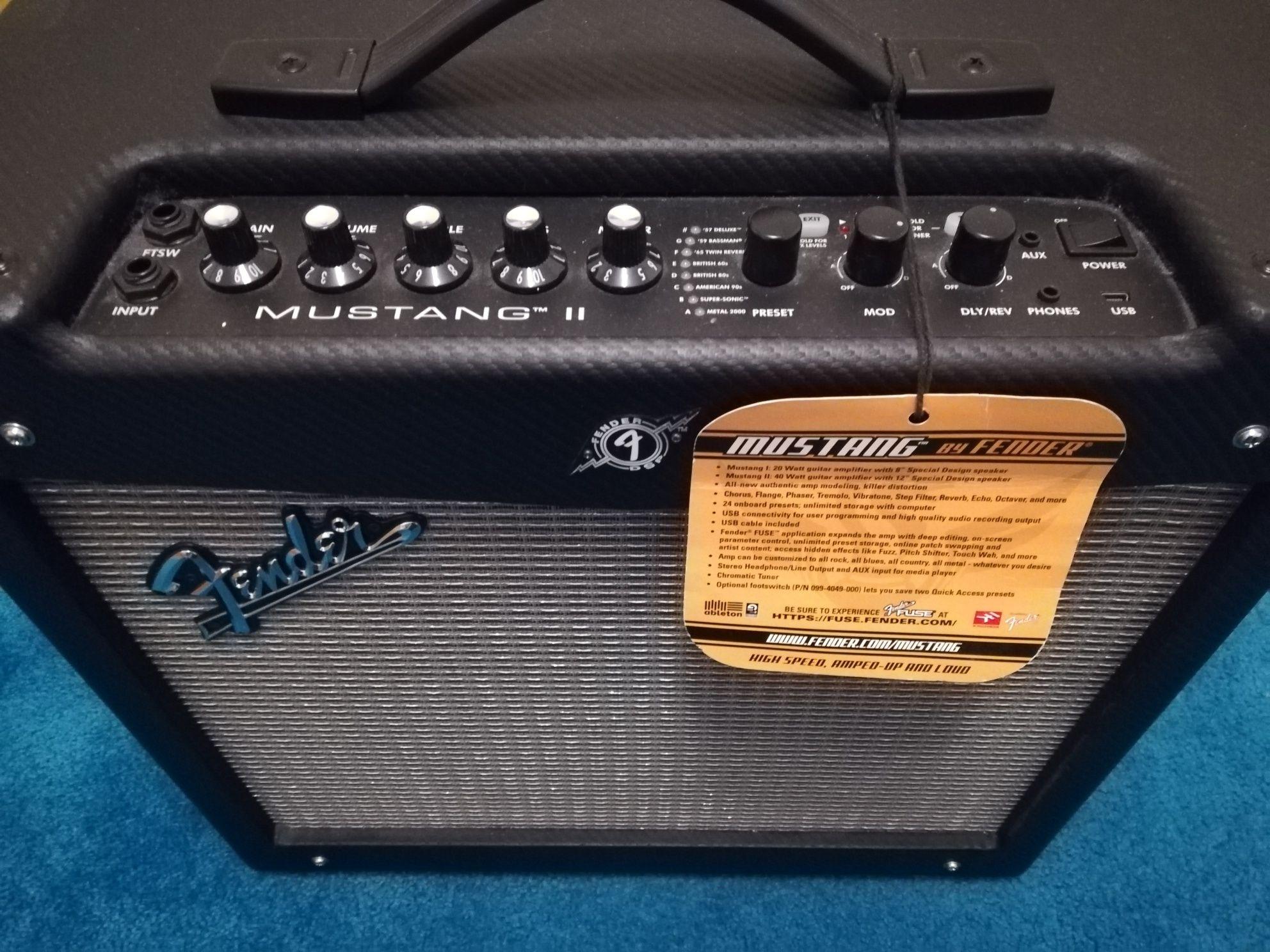 Vendo amplificador fender mustang 2