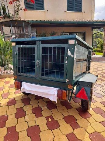 ATRELADO / REBOQUE para cães de caça