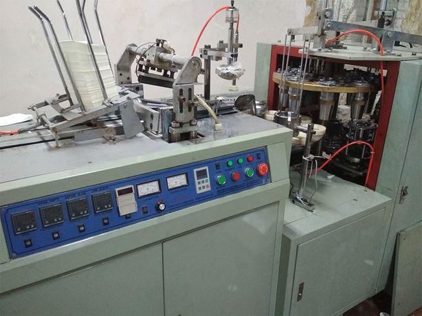 Станок по производству бумажных стаканов размерами 250 и 340 мл
