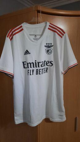 Camisola Benfica branca 2021/22