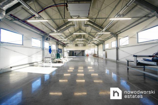 Produkcja, biuro, magazyn NOWY budynek pod Krakowem - 470m2