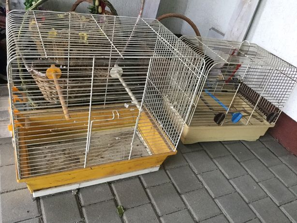 2x klatka ptaki papuga chomik kanarek etc zamiana akwarium