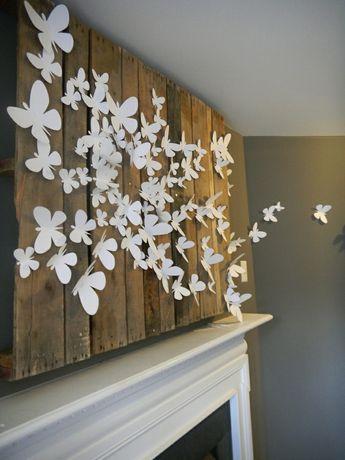 Винтаж,постеры,бабочки 3д,оформление стен