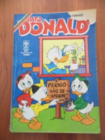 Disney Pato Donald n.º 287 Ano 92