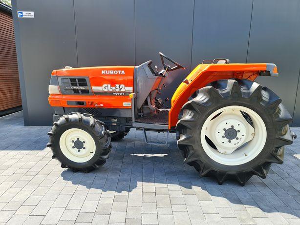 Mini traktor Kubota Gl32,mały traktorek,ogrodniczy,sadowniczy