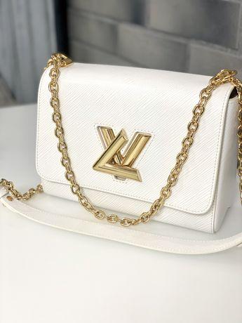 Сумка Louis Vuitton Twist MM white