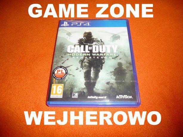 Call of Duty Modern Warfare Remastered PS4 + Slim + Pro = PŁYTA PL