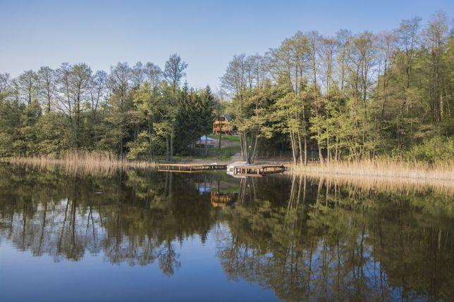 dom na odludziu,na wsi,w lesie,nad jeziorem,z plaza,do wynajecia,mazur