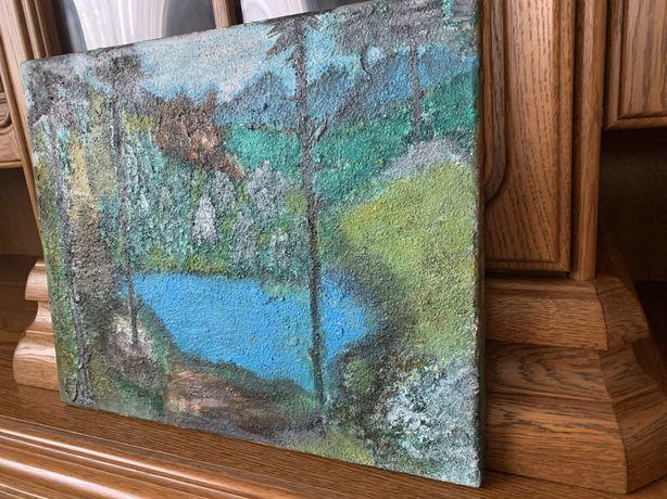 Obraz ręcznie malowany akwarela