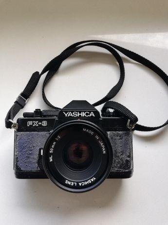 Yashica FX-3 - máquina fotográfica Vintage
