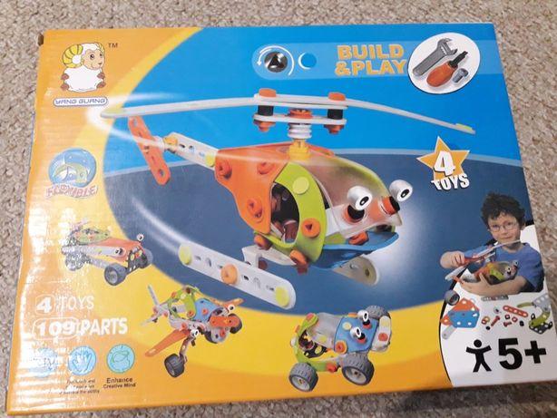 Zabawka konstrukcyjna 4w1 NOWA