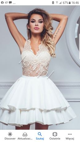 Lou glosbe  sukienka  na wesele  pieknie  sie prezentuje