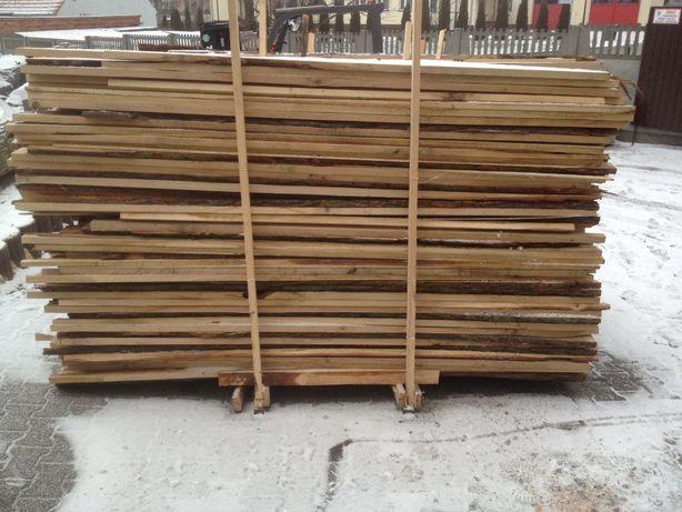 Drewno dębowe zrzyny grube