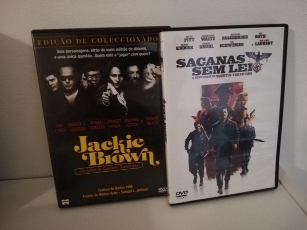 Sacanas sem lei jackie brown tarantino pack 2 dvd