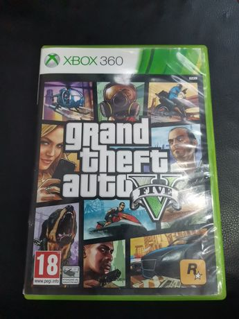 Gry na Xbox 360 GTA V, The crew, your shape
