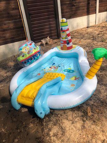 продам абсолютно новый бассейн интеркс для ребенка