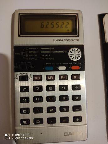 Máquina calculadora Casio antiga