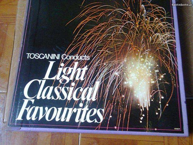 light Classical favourites, Arturo Toscanini, cx com 10 discos vinil