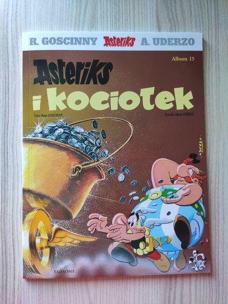 Asterix i kociołek NOWY KOMIKS