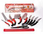 Набор кухонных ножей Contour Pro UTM Knives + магнитная рейка
