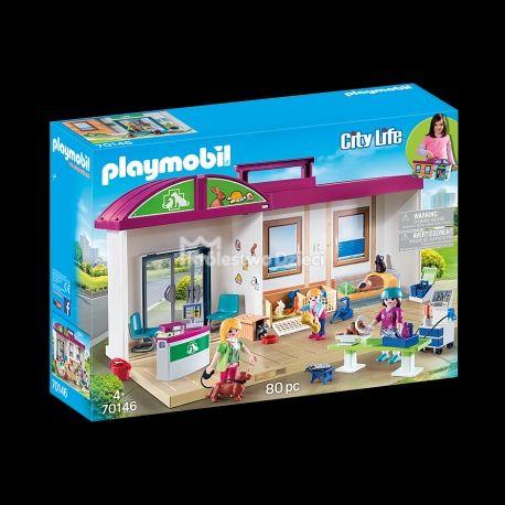 Playmobil przenośne klinika dla zwierząt