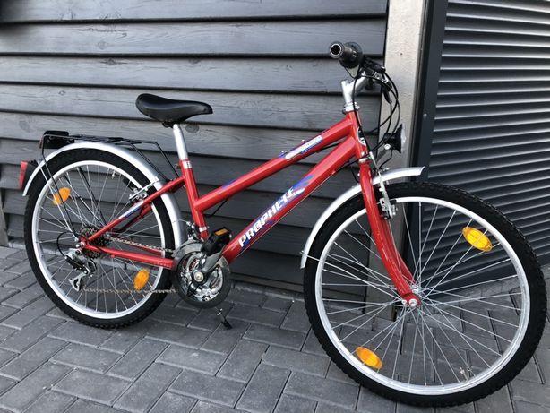 """Rower dziecięcy PROPHETE STREET RIDER 24"""" 18 biegow z Niemiec"""