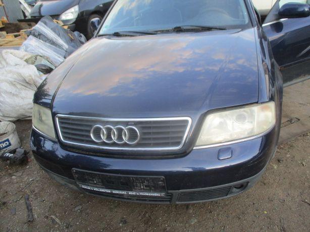 Audi A6 C5 maska niebieska LZ5T